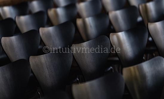 Designer Stühle - Stuhlreihe