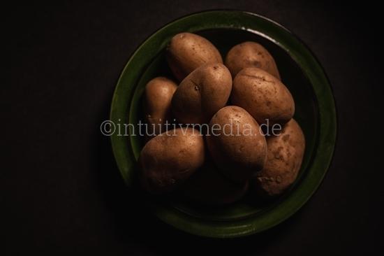 Bio Kartoffeln im Teller