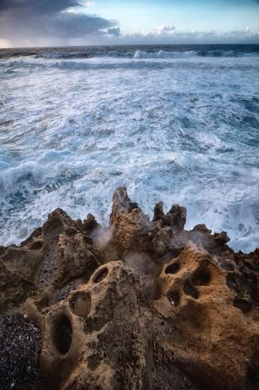 Felsen am Meer