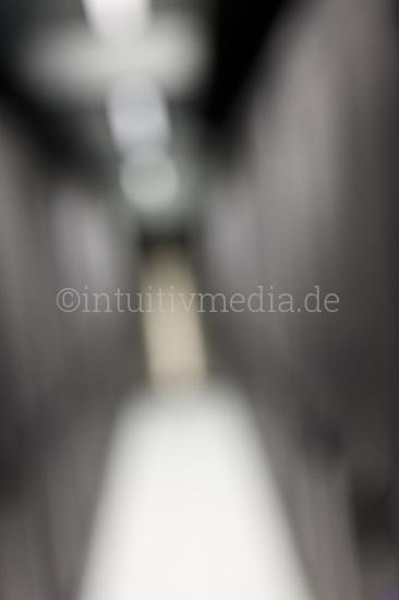Server Raum unscharf