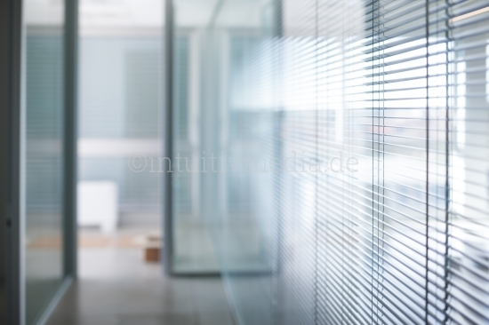 Blurred abstract background interior view
