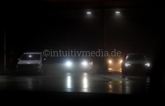 Tankstelle Nachts