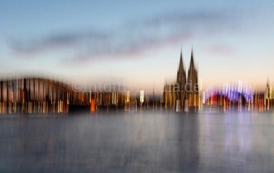 Köln by Night Panorama