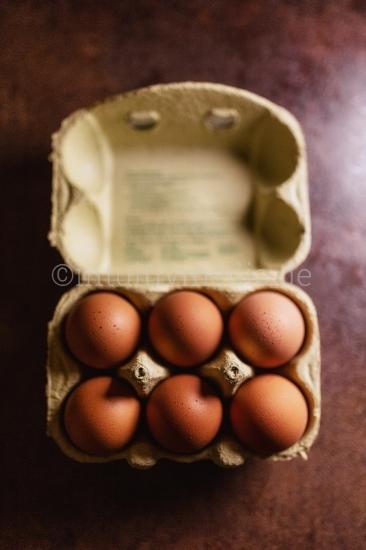 Eierschachtel offen