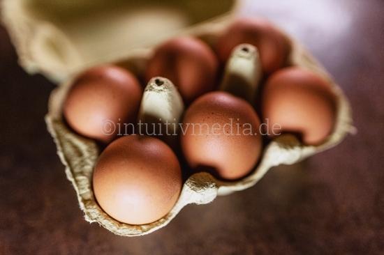 Eier Eierschachtel