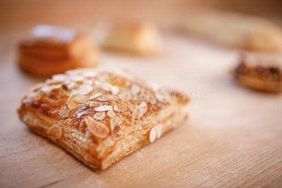 Teilchen - Bäckerei - Closeup