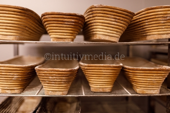 Brotkörbe - Bäckerei - Closeup