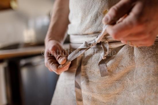 Schürtze knoten - Bäcker